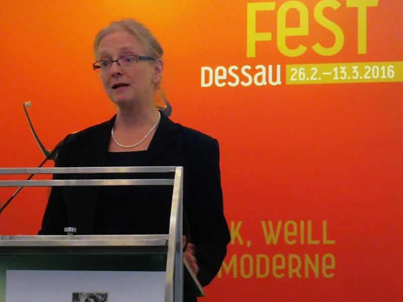 Preisträgerin 2016: Prof. Dr. Ursula Goldenbaum (Atlanta)